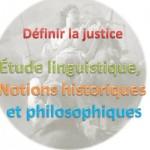 définition justice