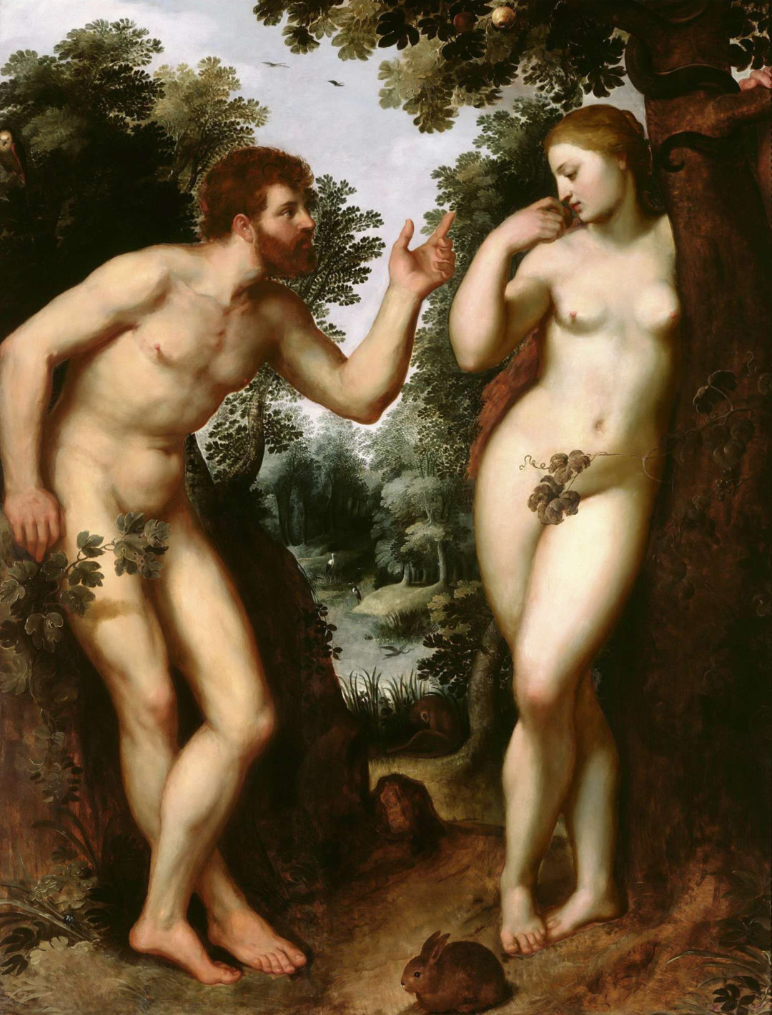 Rubens_Painting_Adam_Eve