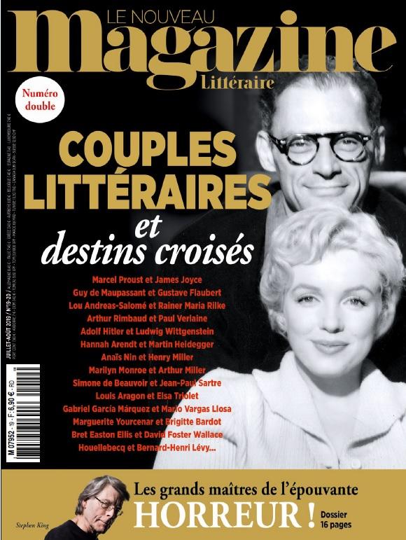 NouveauMagazineLitteraire_07952_19et20_1907_1908_190627_CouplesLitteraires_Couverture